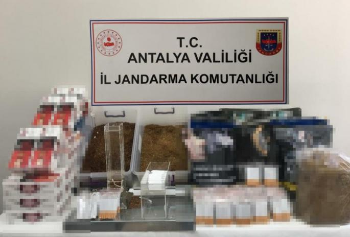 ANTALYA JANDARMADAN MAKARON OPERASYONU