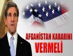 JOHN KERRY 'NATO AFGANİSTAN'A YARDIM ELİ UZATIYOR'