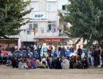 ANTALYA'DA HDP ÇADIRINA POLİS ENGELİ