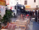 ANTALYA'DA HDP'LİLERE POLİS MÜDAHALESİ