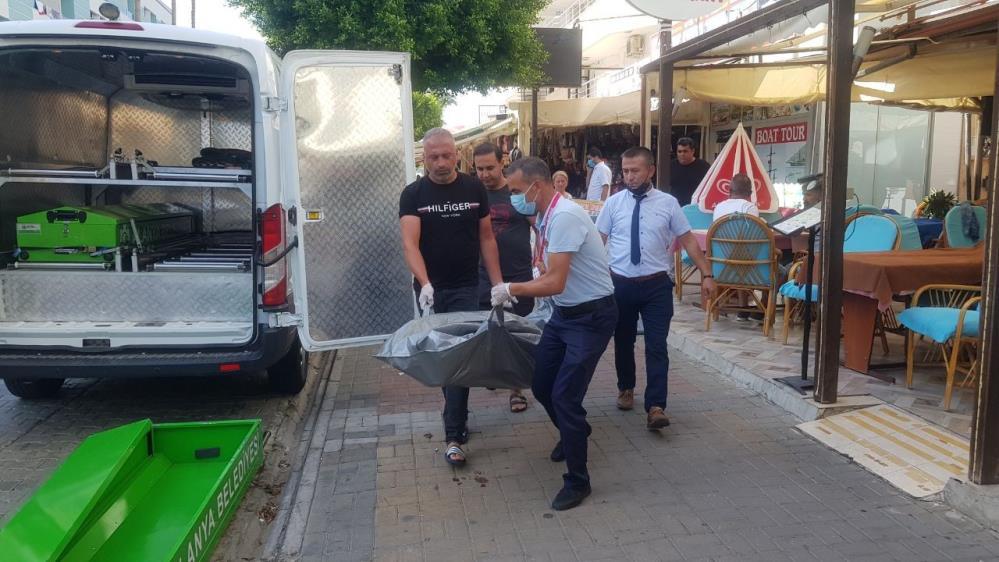 ALANYA'DA KLİMA MOTORUNA BAĞLI CESET BULUNDU