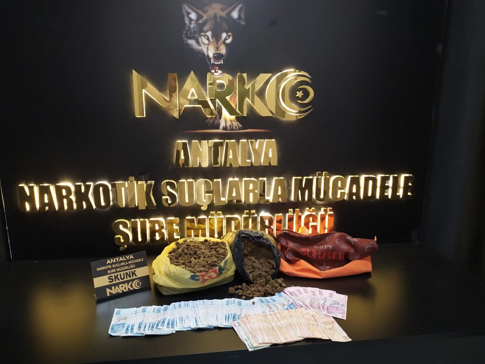 ANTALYA NARKO'DAN OPERASYON : 39 TUTUKLAMA