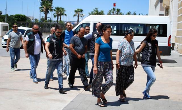ANTALYA'DA UYUŞTURUCU OPERASYONU : 6 GÖZALTI